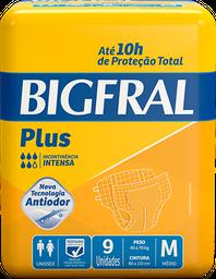 Fralda Geriátrica Bigfral Plus M 9 Und