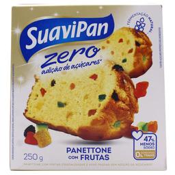 Panettone Suavipan Zero Acuc Frutas 250 g