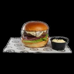 Q- Burger Classic+ Batata Ondulada