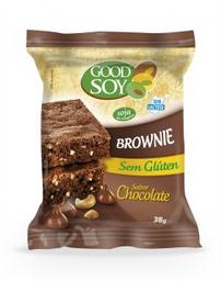 Good Soy Brownie Sabor Chocolate Sem Glúten e Sem Lactose