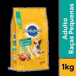 Ração Pedigree Para Cães Adultos Raças Pequenas 1 kg