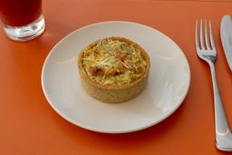 Quiche Integral Peru Light com Queijo Cottage