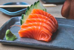 Sashimi Salmão Barriga