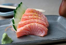 Sashimi Salmão Barriga Maçaricado