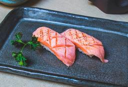 Sushi Salmão Barriga Maçaricado
