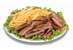 Porção Mista de Carne e Fritas
