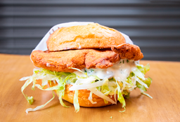 Chicken Fried Sandwich