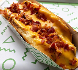 Cheddar Bacon Dog