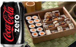 Combinado de Enrolados + Coca Zero 220ml