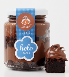 Brownie No Pote Com Nutella - 245g