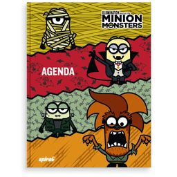 Agenda escolar Minion Monsters 19923 Spiral Mim
