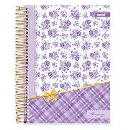 Caderno Universitário Capa Dura 10x1 200fl Femmina 19447