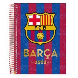 Caderno Universitário Capa Dura 10x1 200fl Barcelona 19436