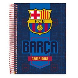 Caderno Universitário Capa Dura 10x1 200fl Barcelona 19437