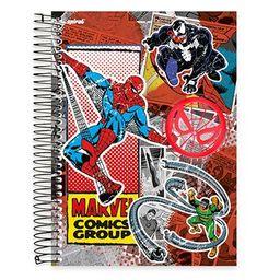 Caderno Universitário Capa Dura 10x1 200fl Marvel 19464