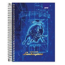Caderno Universitário Capa Dura 10x1 200fl Lamborghini 19461