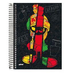 Caderno Universitário Capa Dura 10x1 200fl Marvin 19813