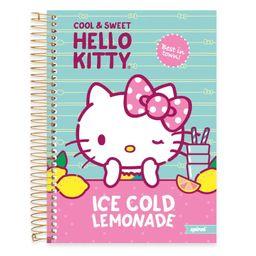 Caderno Universitário Capa Dura 10x1 200fl Hello Kitty 19764