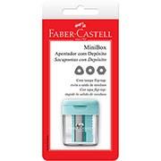 Apontador c/deposito minibox SM/MINIBOX Faber Castell