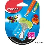 Apontador c/deposito Color Peps 2 furos sortidos 043110 Maped