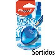 Apontador c/deposito I-Gloo 1 Furo Sortidos 634754 Maped