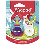 Apontador c/deposito e borracha Loopy Totem 049130 Maped