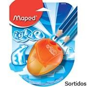 Apontador c/deposito I-Gloo 2 Furos Sortidos 634756 Maped