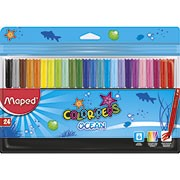 Caneta hidrografica 24 cores Color Peps Ocean 845722 Maped