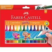 Caneta hidrográfica 12 cores Jumbo 15.0212J Faber Castell
