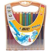 Caneta hidrográfica 12 cores . 948290 Bic
