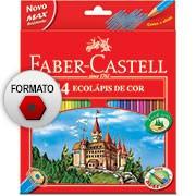 Lápis de Cor 24 cores sextavado 120124G Faber Castell