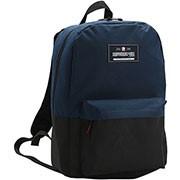 Mochila nylon preta e azul 8731284 Republic Vix
