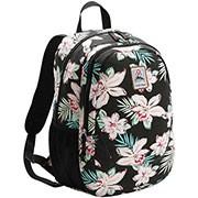 Mochila cotton Teen floral preta 8331256 Republic Vix