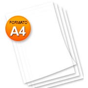 Papel almaço A4 56G s/pauta 90182 Spiral