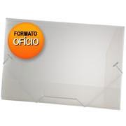 Pasta c/ elástico polipropileno 350x235mm perolizado natural A02
