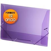Pasta c/ elástico polipropileno 180x245 lilás A01