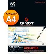 Bloco aquarela A4 300g 12 fls 66667180 Canson