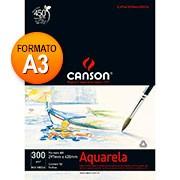Bloco aquarela A3 300g 12 fls 66667181 Canson