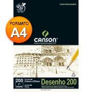 Bloco desenho A4 creme 200g 20 fls 66667042 Canson