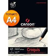 Bloco papel manteiga croquis A4 40g 50 fls 66667046 Canson