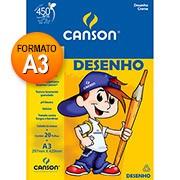 Bloco desenho A3 creme 140g 20 fls 66667073 Canson