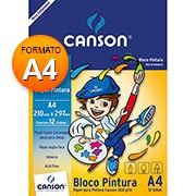 Bloco pintura A4 300g 12 fls 66667091 Canson