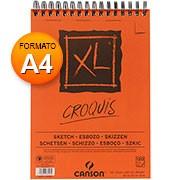 Bloco XL e croquis A4 90g 120 fls 60787103 Canson