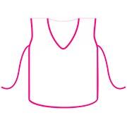 Avental escolar infantil feminino 3680 Plastpark