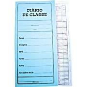 Diário de Classe mensal pequeno 12 fls 1730 Tamoio