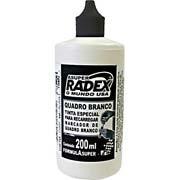Reabastecedor p/pincel p/quadro branco 200ml preto Radex