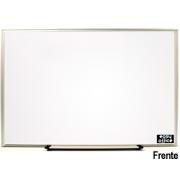 Quadro branco 65x45 moldura aluminio AL-4565
