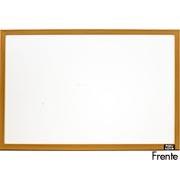 Quadro branco 60x40 moldura madeira MDF-4060 Easy Office