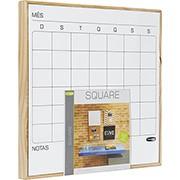 Quadro branco 35x35 mensal PA003582 Cortiarte