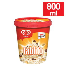 Sorvete Kibon Tablito 800 mL - Cód.11476
